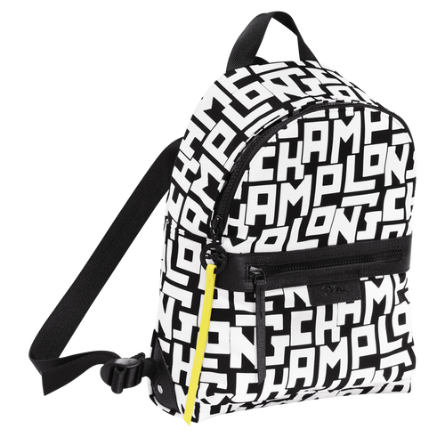 Backpack S, Black/White - View 2 of 4 -
