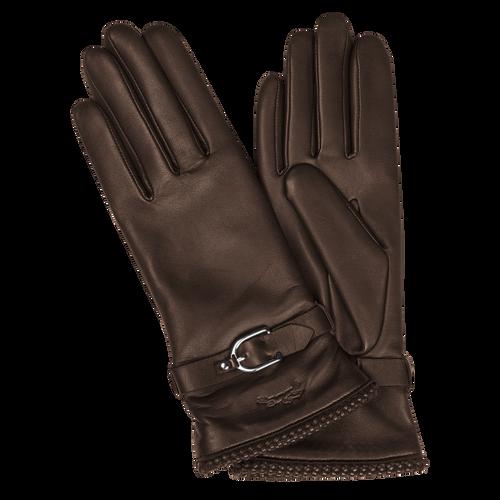 View 1 of Women's gloves, 002 Mocha, hi-res