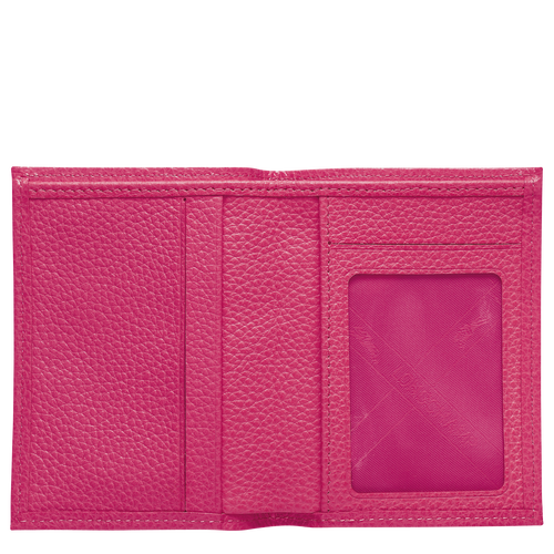 Card holder, Pink/Silver - View 2 of  3 -