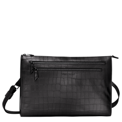 Messenger bag, Black, hi-res
