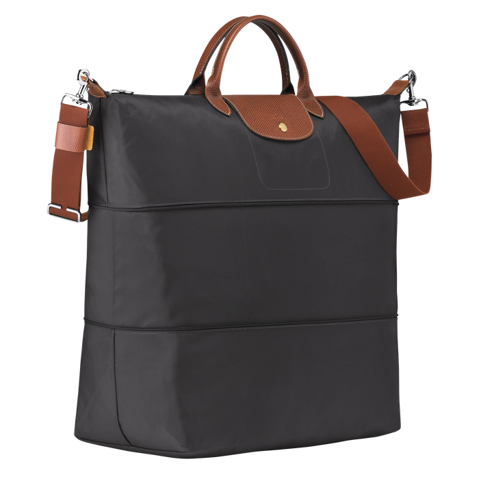 Travel bag, Gun metal - View 2 of  4 - zoom in