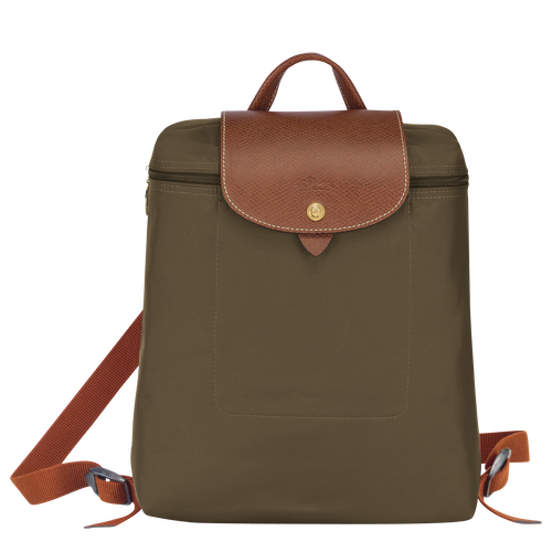 Backpack, Khaki - View 1 of 5 -