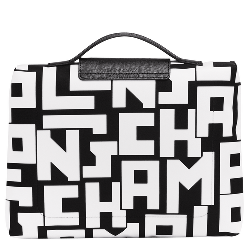 View 3 of Pouch, Black/White, hi-res