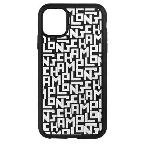 Iphone 11 case, Black/White, hi-res - View 1 of 3