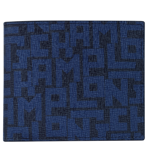 Wallet, Black/Navy - View 1 of 2 -