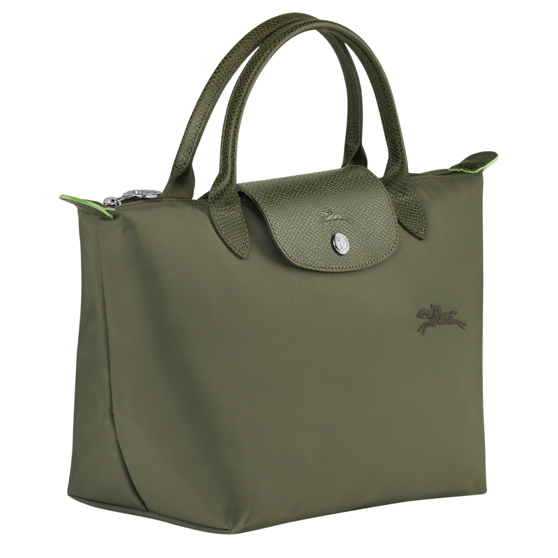 Le Pliage Green Top handle bag S, Forest