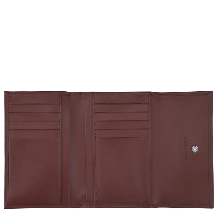 Compact wallet, Mahogany - View 2 of  2 - zoom in