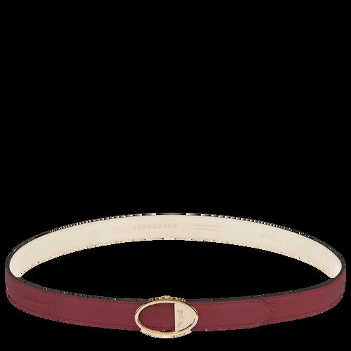Mailbox Ladies' belt, Red