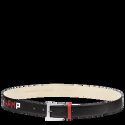 Women's belt, 001 Black, hi-res
