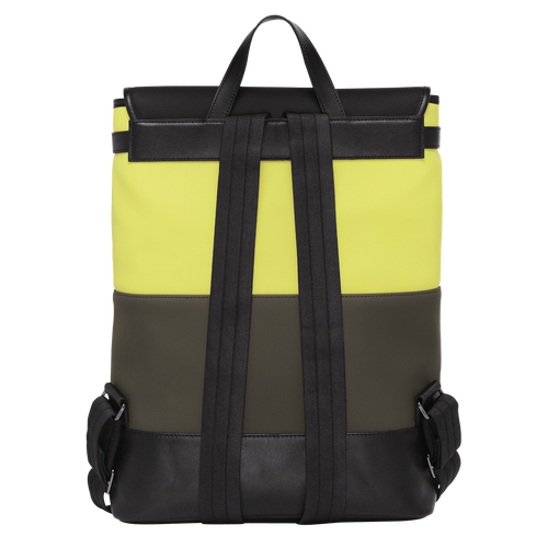 View 3 of Backpack, E84 Neon/Khaki, hi-res