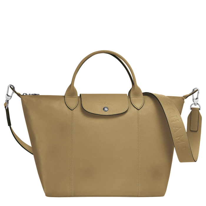 Top handle bag M, Khaki - View 1 of  3 - zoom in
