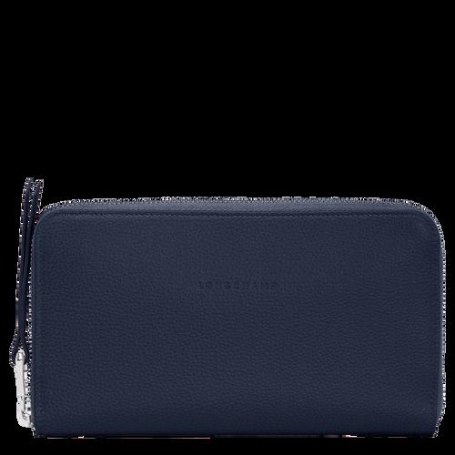 Long zip around wallet, Navy - View 1 of  2 -