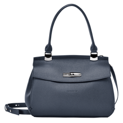 Top handle bag S, 006 Navy, hi-res