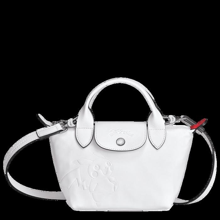 トップハンドルバッグ XS, ホワイト - ビュー 1: 3 - 拡大