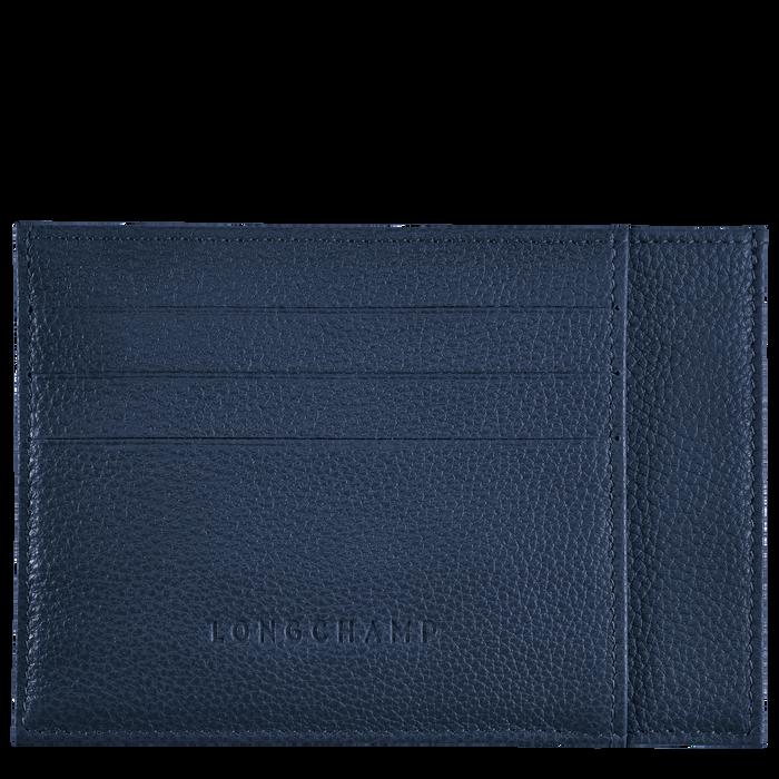 Le Foulonné Card holder, Navy