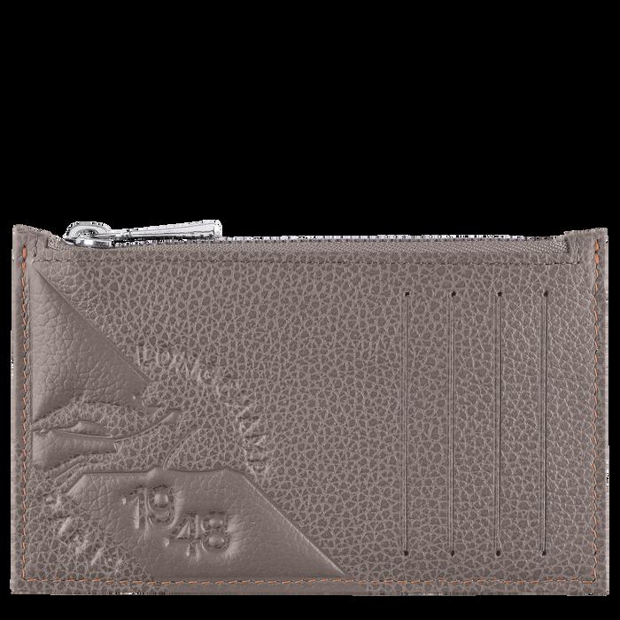 Le Foulonné Coin purse, Taupe