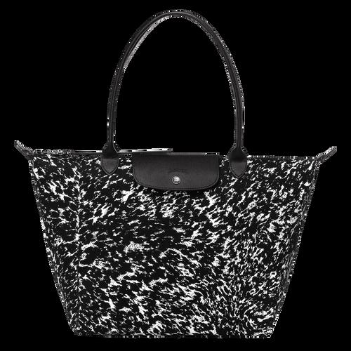 View 1 of Tote bag L, 067 Black/White, hi-res