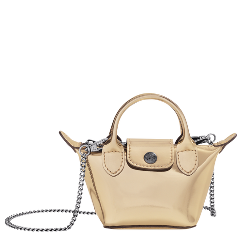 Crossbody bag XS, Pale Gold - View 1 of 3 -