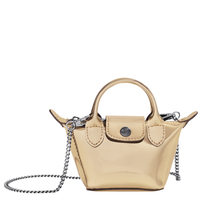Crossbody bag XS, Pale Gold - View 1 of 3 - zoom in