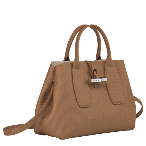 Top handle bag M, Natural - View 3 of  5 -