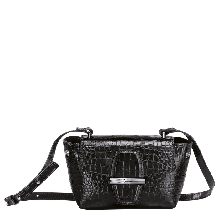 Crossbody bag S, Black/Ebony - View 2 of 4 - zoom in