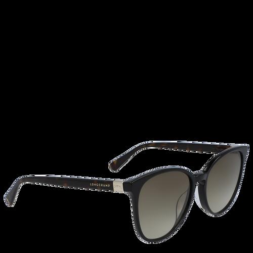 Zonnebril, Zwart geschubd, hi-res - View 2 of 3