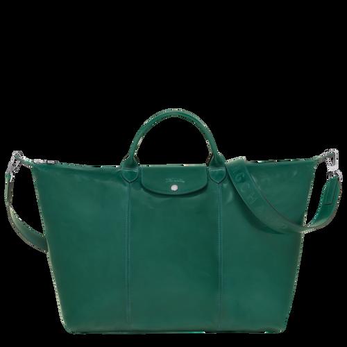 Travel bag L, Green havana - View 1 of  3 -