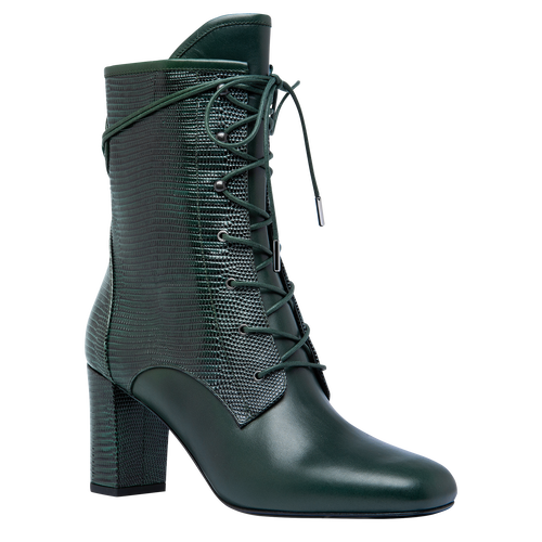 Ankle boots, Longchamp Green - View 2 of  2 -
