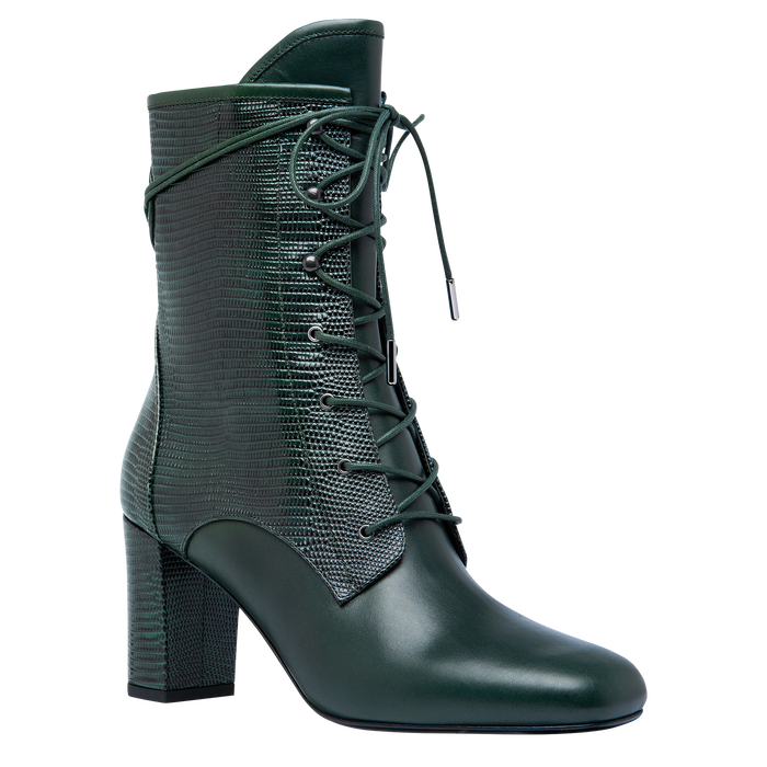 Ankle boots, Longchamp Green - View 2 of  2 - zoom in