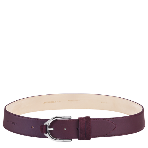 Ladies' belt, Aubergine - View 1 of  1 -