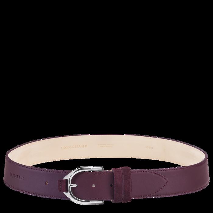 Ladies' belt, Aubergine - View 1 of  1 - zoom in