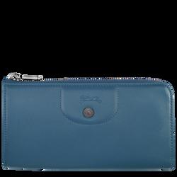 Long wallet with zip around