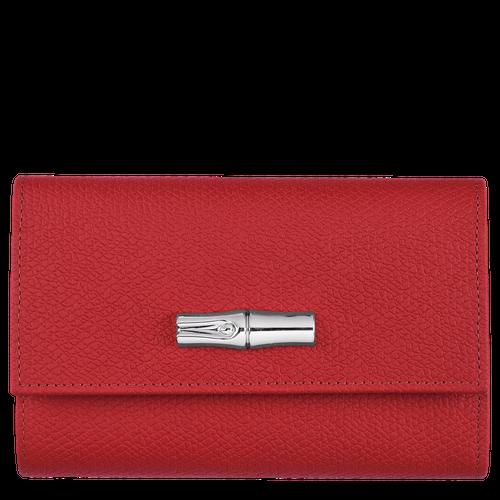 Brieftasche im Kompaktformat, Rot - Ansicht 1 von 2 -