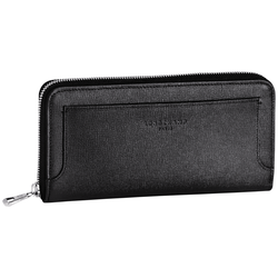 Zip around wallet, 001 Black, hi-res