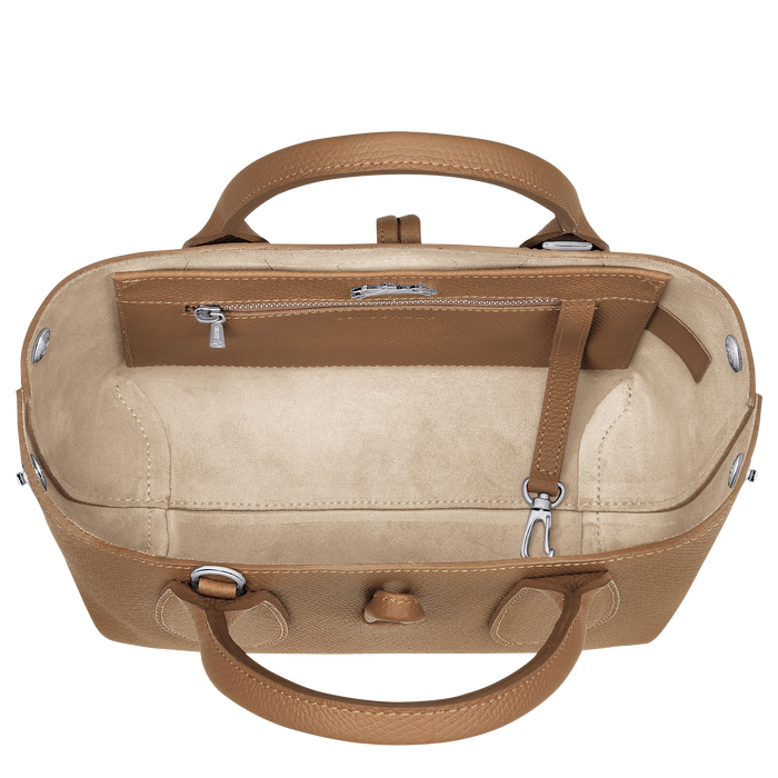 Roseau Top handle bag S, Natural