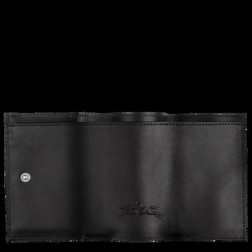 컴팩트 지갑, 블랙 / 네이비 - 2 이미지 보기 2.0 -