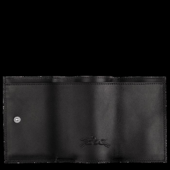 컴팩트 지갑, 블랙 / 네이비 - 2 이미지 보기 2.0 - 확대하기