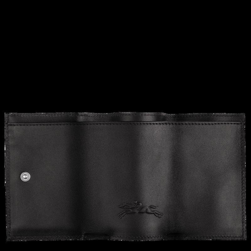Le Pliage LGP Compact wallet, Black/Navy