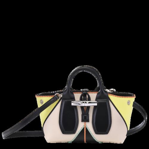 Top handle bag S, Yellow, hi-res - View 1 of 4