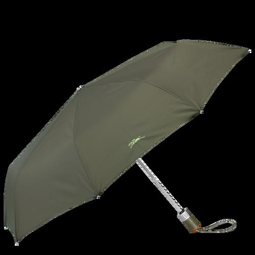 Parapluie homme Parapluie mat rétractable, Vert Longchamp