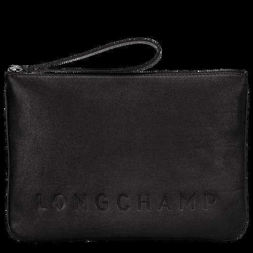 Longchamp 3D Pouch, Black