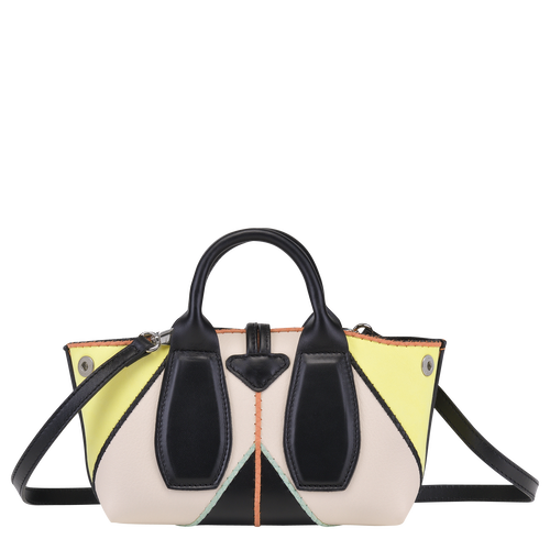 Top handle bag S, Yellow, hi-res - View 3 of 4