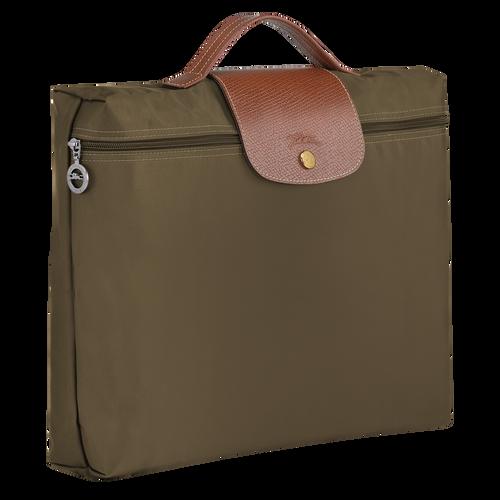 Briefcase S, Khaki - View 2 of  4 -