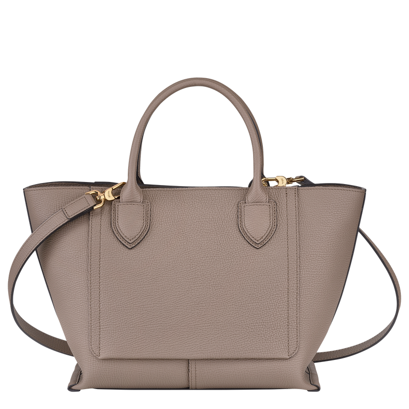 Top handle bag M, Taupe - View 3 of  4 - zoom in