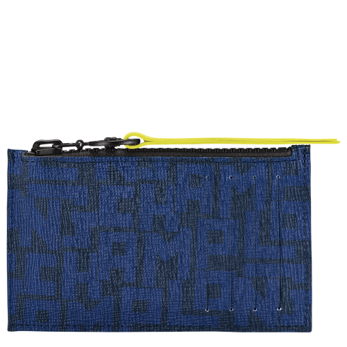 Coin purse, Black/Navy, hi-res - View 1 of 2