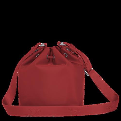 Bucket bag S, Red, hi-res - View 3 of 4