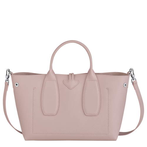 Top handle bag M, Powder/Ivory - View 4 of  5 -