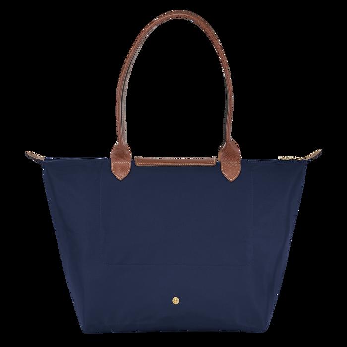Shoulder bag L, Navy - View 3 of  4 - zoom in