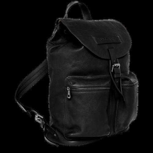 Backpack L, Black/Ebony - View 2 of  3 -