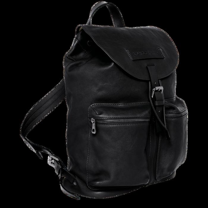 Backpack L, Black/Ebony - View 2 of  3 - zoom in